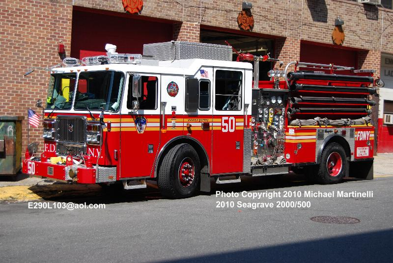Fdnytrucks Com Engine Company 50 Ladder Company 19