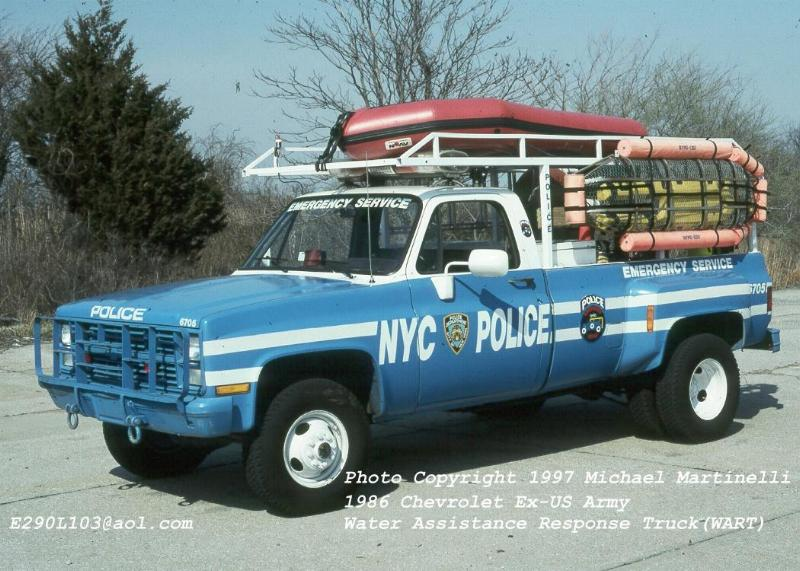 Different Types Of Vehicles >> FDNYtrucks.com (NYPD)
