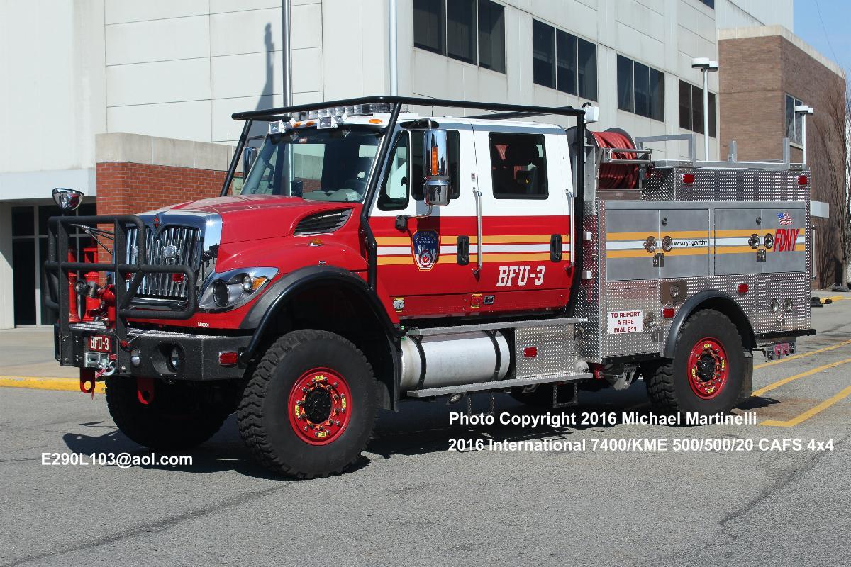 Brush Trucks For Sale >> FDNYtrucks.com (Engine Company 156/Brush Fire Unit 3)
