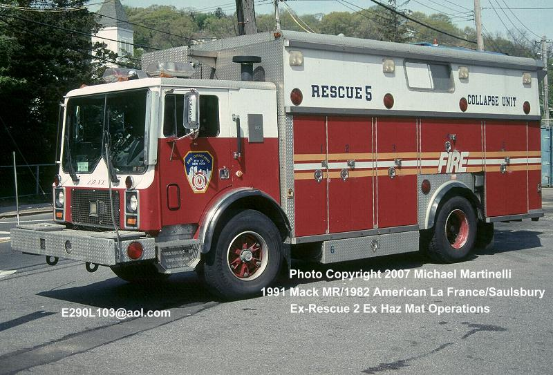 Retired Police Vehicles For Sale >> FDNYtrucks.com (Engine Company 160/Rescue 5/Tactical Support Unit 2/Division 8)